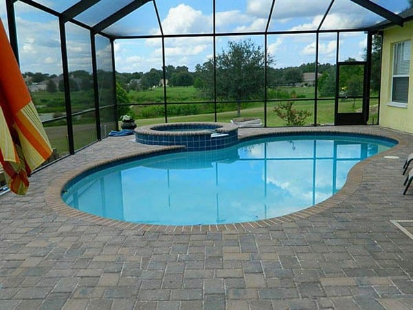 Gallery challenger pools best pool renovation company for Pool design tampa